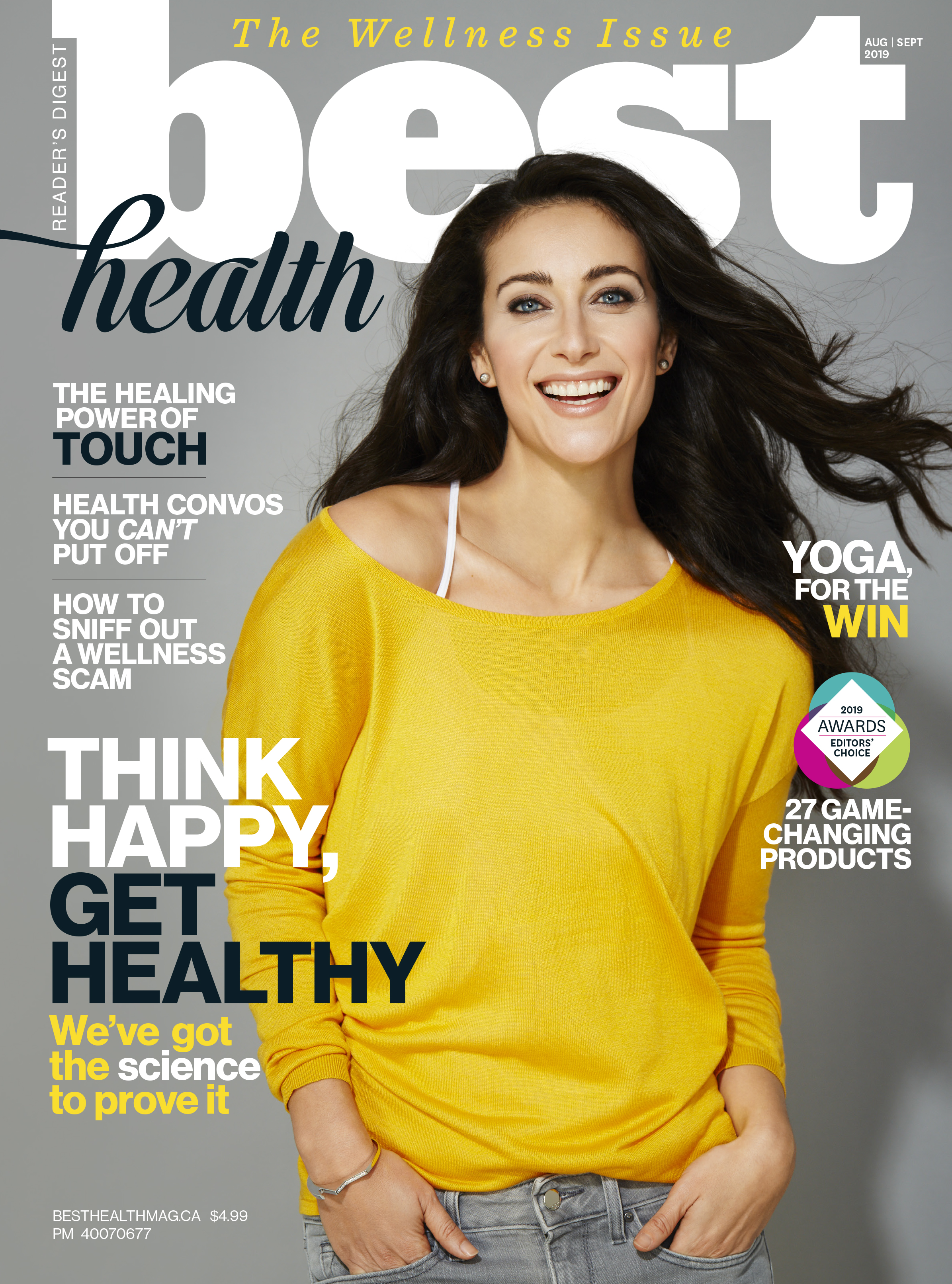 Best Health magazine cover